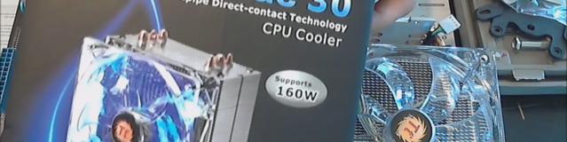 Thermaltake Contac 30 CPU Cooler Installation